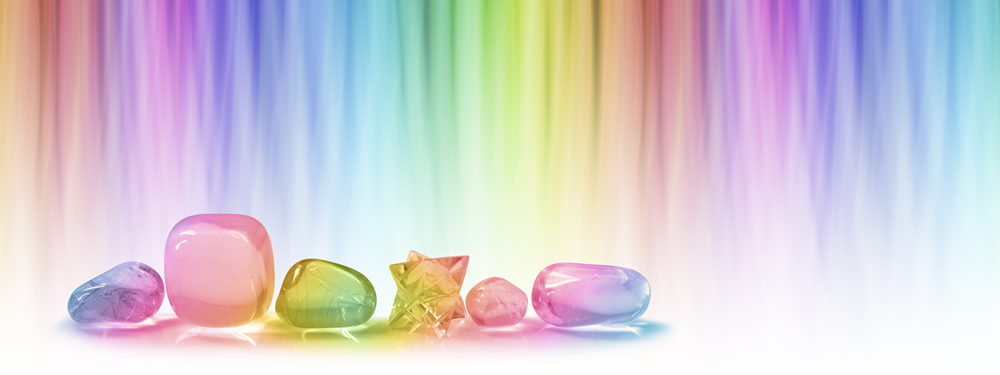 Colorful Crystals - Banner