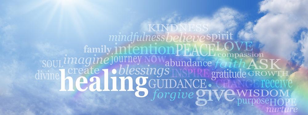 Healing Words - Banner